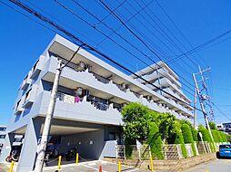 埼玉県新座市野火止5丁目の賃貸マンションの外観