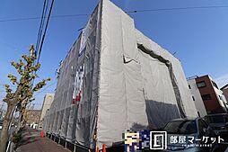 愛知県岡崎市明大寺町字天白前の賃貸マンションの外観