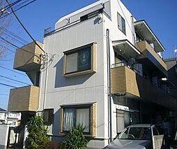 東京都調布市多摩川1丁目の賃貸マンションの外観