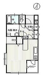 TOY-HOUSE I[403号室]の間取り