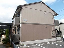 長野県松本市野溝木工1丁目の賃貸アパートの外観