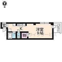 エラブ東福寺[302号室]の間取り