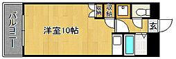Kステーション八田(初期費用オトクプラン)[205号室]の間取り