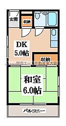 メゾン・ド・葵[2階]の間取り