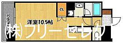 プライムアーバン博多東[8階]の間取り