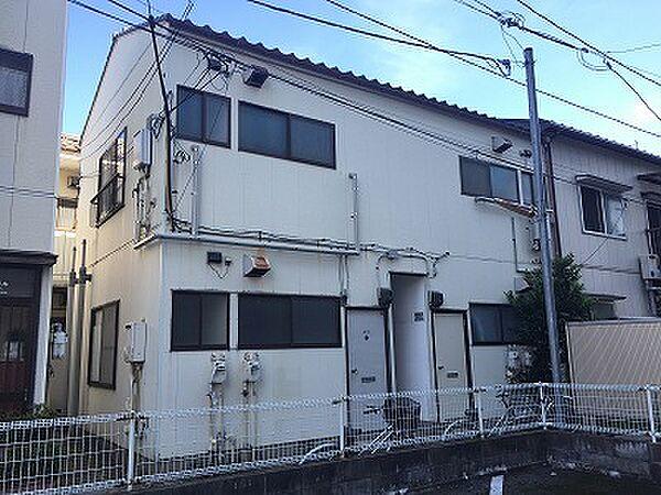 新潟県新潟市中央区万代6丁目の賃貸アパートの外観