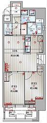 アクタス博多駅東IIスクエア[8階]の間取り