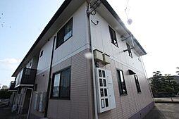 広島県福山市東川口町4丁目の賃貸アパートの外観