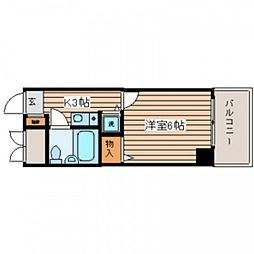 広島県広島市西区己斐本町2丁目の賃貸マンションの間取り