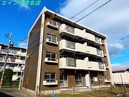 三重県桑名市大字矢田の賃貸マンションの外観