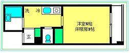ロワール横濱関内[1118号室]の間取り