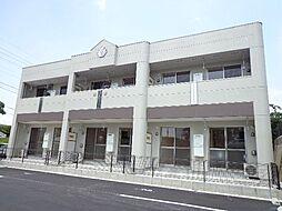 山口県宇部市大字藤曲の賃貸アパートの外観