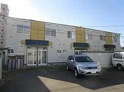 北海道札幌市北区太平一条1丁目の賃貸アパートの外観