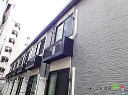 大阪府大阪市住吉区我孫子5丁目の賃貸アパートの外観
