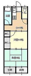 [一戸建] 福岡県北九州市門司区黄金町 の賃貸【/】の間取り