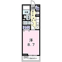 ポート泉佐野 A棟[2階]の間取り