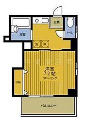 神奈川県横浜市中区麦田町4丁目の賃貸マンションの間取り