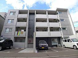 北海道札幌市豊平区平岸一条6丁目の賃貸マンションの外観