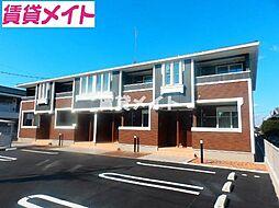 三重県松阪市塚本町の賃貸アパートの外観