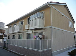 兵庫県三木市緑が丘町中2丁目の賃貸アパートの外観