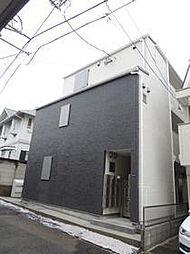 東京都渋谷区元代々木町の賃貸アパートの外観