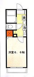 エレガンス霞ヶ関[1階]の間取り