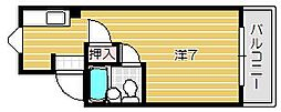 エクセルN[B-1号室]の間取り