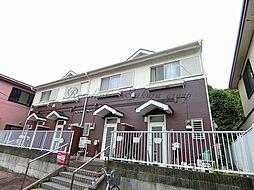 神奈川県藤沢市大鋸2丁目の賃貸アパートの外観