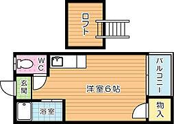 VALUE皇后崎(バリュー皇后崎)[1階]の間取り