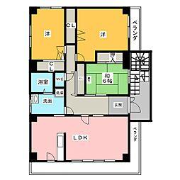 deuxiemu SAWADA[2階]の間取り