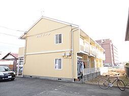群馬県前橋市上新田町の賃貸アパートの外観