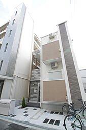 大阪府大阪市城東区放出西3丁目の賃貸アパートの外観