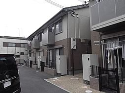 京都府京都市山科区勧修寺瀬戸河原の賃貸アパートの外観
