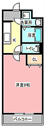 シャンボールII[1階]の間取り
