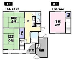 [一戸建] 鳥取県米子市博労町4丁目 の賃貸【/】の間取り