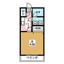 SGハイツ[1階]の間取り