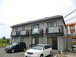 岡山県岡山市南区妹尾の賃貸アパートの外観