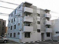 北海道札幌市豊平区月寒西一条9丁目の賃貸マンションの外観