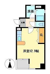 アーバンポイント新栄[2階]の間取り