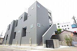 愛知県名古屋市瑞穂区神穂町の賃貸アパートの外観