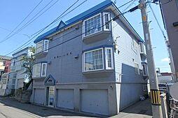 北海道札幌市東区北三十二条東4丁目の賃貸アパートの外観