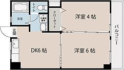 ビーチサイドマンション[1階]の間取り