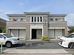 愛知県北名古屋市野崎城屋敷の賃貸アパートの外観