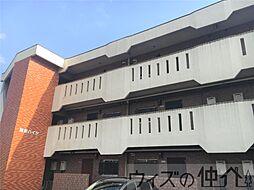 群馬県高崎市昭和町の賃貸マンションの外観