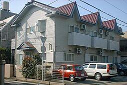 埼玉県さいたま市中央区新中里2丁目の賃貸アパートの外観