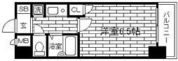 リーガル新大阪Ⅲ[3階]の間取り