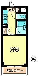 新大宮シティパル[4階]の間取り