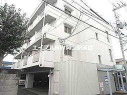 岡山県岡山市南区万倍丁目なしの賃貸マンションの外観