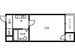 プレステージ堺[507号室]の間取り