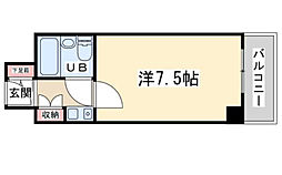 センチュリーパークユニ東梅田[12階]の間取り